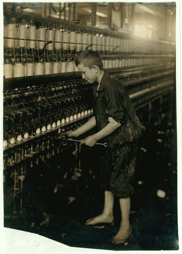 American Linen Co Cleaner - Spinning room Fall River, Ma